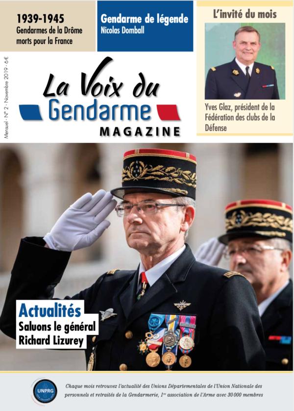 Couverture La Voix du Gendarme N°2