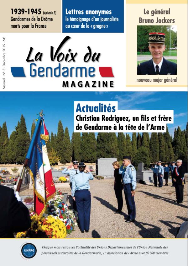 La Voix du Gendarme N°3 - Décembre 2019