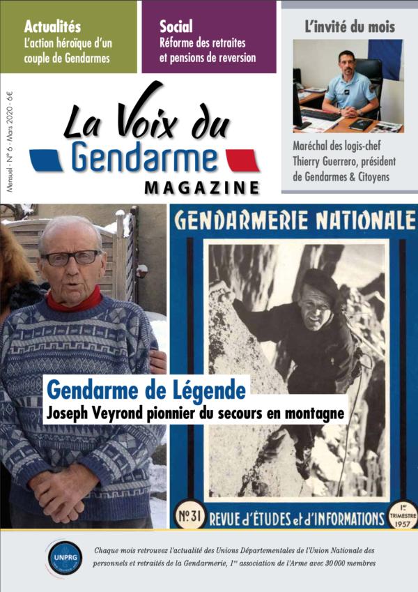 La Voix du Gendarme Magazine N°6 mars 2020