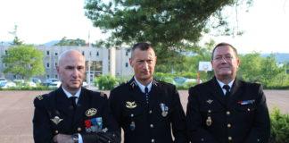 Frantz Tavart entouré de Bertrand Cavallier et Stéphane Gauffeny