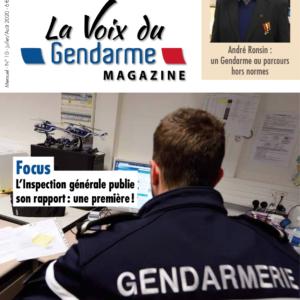 Couv_La Voix du Gendarme N°10 - Juin juillet aout 2020