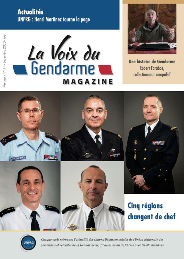 La Voix du Gendarme N°11 Septembre 2020