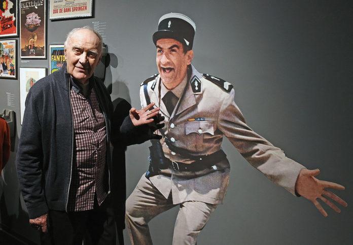 Rémy Julienne au musée de la Gendarmerie et du cinéma de Saint-Tropez