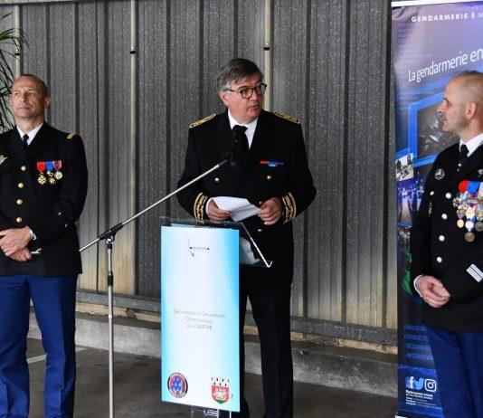 Prise de commandement - Colonel Laurent De La Follye de Joux